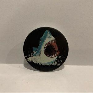 Cartoon Great White Shark Popsocket New